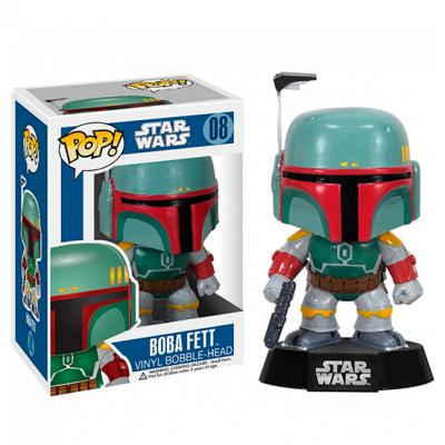 Figura Pop Star Wars Boba Fett