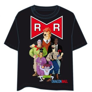 Camiseta Dragon Ball Red Ribbon
