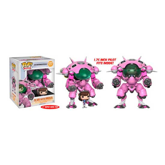 Figura Pop Overwatch Meka with D.VA Driver