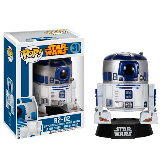 Figura POP Vinyl Bobble Head Star Wars R2-D2