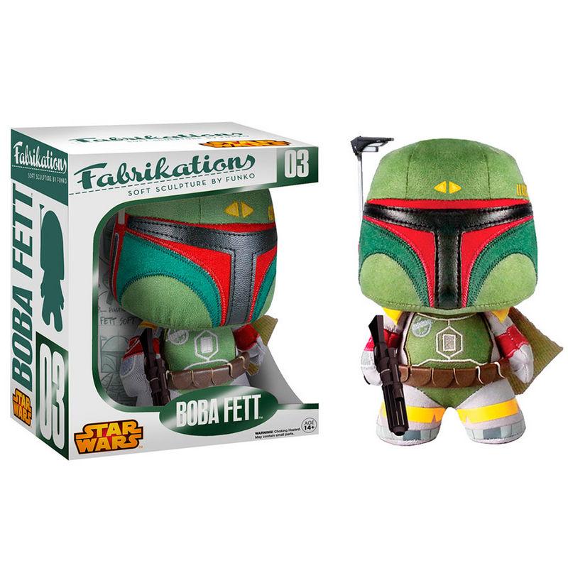 Figura peluche Boba Fett Star Wars Fabrikations