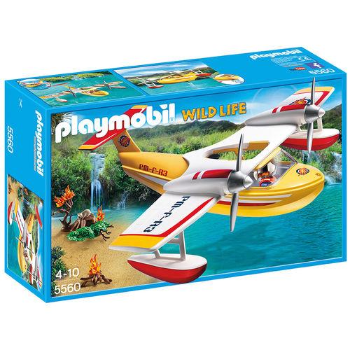Hidroavión Playmobil Wild Life