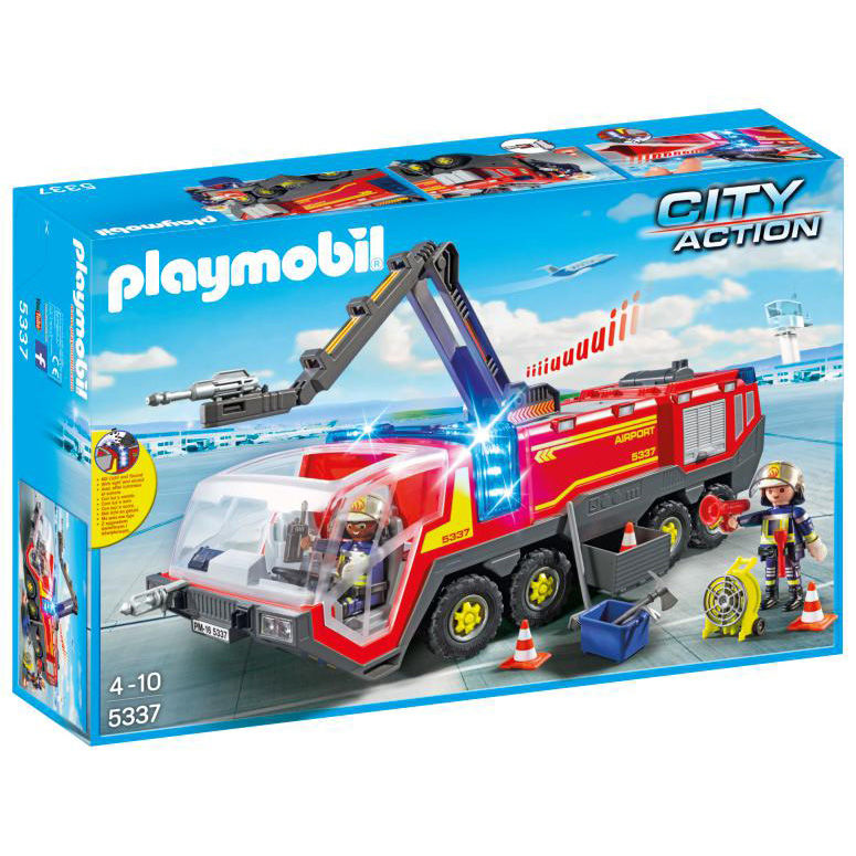 Camion Bomberos Aeropuerto Playmobil City Action