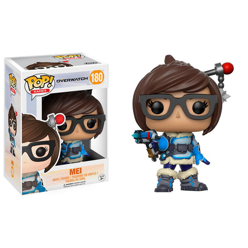 Figura Vinyl Pop Overwatch Mei