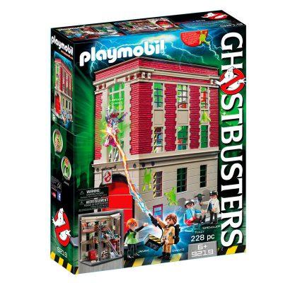 Cuartel Parque de Bomberos Ghostbusters Playmobil