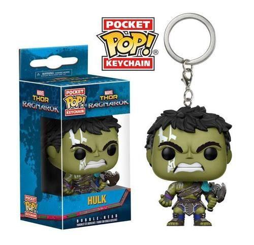 Llavero Pop Thor Ragnarok Hulk Angry